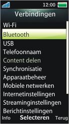 Sony Ericsson U10i Aino - Bluetooth - Headset, carkit verbinding - Stap 5