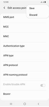 Samsung Galaxy A40 - MMS - Manual configuration - Step 15