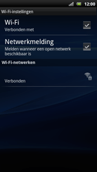 Sony Ericsson Xperia Arc S - Wifi - handmatig instellen - Stap 9