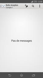 Sony D5803 Xperia Z3 Compact - E-mail - Configuration manuelle - Étape 4