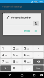 Sony E5823 Xperia Z5 Compact - Voicemail - Manual configuration - Step 8