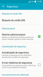 Samsung Galaxy A5 - Segurança - Como ativar o código PIN do cartão de telemóvel -  5