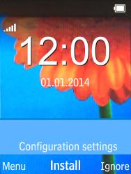 Nokia 220 - MMS - Automatisch instellen - Stap 3
