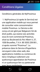 Sony D2203 Xperia E3 - Applications - MyProximus - Étape 11