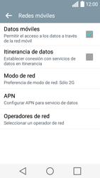 LG Leon - Red - Seleccionar el tipo de red - Paso 8