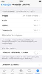 Apple iPhone 6 iOS 9 - WhatsApp - Limiter l'utilisation des données pour WhatsApp - Étape 6