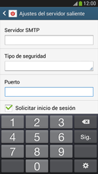 Samsung Galaxy S4 Mini - E-mail - Configurar correo electrónico - Paso 14