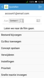 Alcatel OneTouch PIXI 3 (4.5) 3G (OT-4027X) - E-mail - Hoe te versturen - Stap 11
