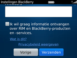 BlackBerry 9790 Bold - BlackBerry activeren - BlackBerry ID activeren - Stap 11