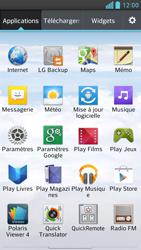LG Optimus F6 - Internet et connexion - Désactiver la connexion Internet - Étape 3
