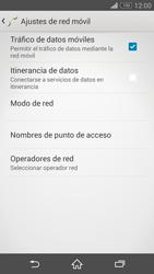 Sony Xperia Z3 - Internet - Activar o desactivar la conexión de datos - Paso 6