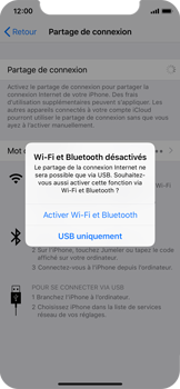 Apple iPhone XS - Internet - comment configurer un point d'accès mobile - Étape 7