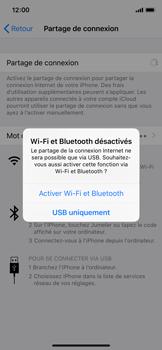 Apple iPhone XS - iOS 12 - Internet et connexion - Partager votre connexion en Wi-Fi - Étape 7