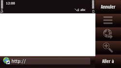 Nokia N97 Mini - Internet - Navigation sur internet - Étape 4