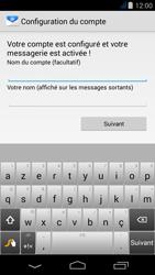 Acer Liquid Jade - E-mail - Configuration manuelle - Étape 17