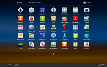 Samsung P7500 Galaxy Tab 10-1 - Internet - Configurar Internet - Paso 13