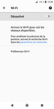 Sony Xperia XZ2 - Wi-Fi - Accéder au réseau Wi-Fi - Étape 6