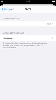 Apple iPhone 8 Plus - iOS 13 - E-mail - Configuration manuelle - Étape 17