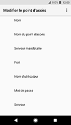 Sony Xperia X Compact - Android Oreo - MMS - configuration manuelle - Étape 9