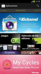 Samsung I9300 Galaxy S III - Aplicaciones - Descargar aplicaciones - Paso 4