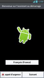 LG Optimus F5 - Premiers pas - Créer un compte - Étape 2