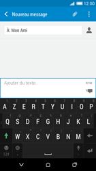 HTC Desire 816 - Contact, Appels, SMS/MMS - Envoyer un MMS - Étape 9