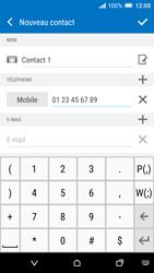 HTC One A9 - Contact, Appels, SMS/MMS - Ajouter un contact - Étape 7