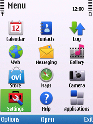 Nokia C5-00 - Voicemail - Manual configuration - Step 3