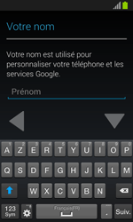 Samsung Galaxy S3 Mini - Premiers pas - Créer un compte - Étape 10