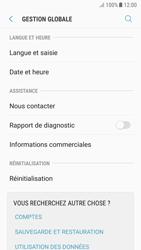 Samsung A520F Galaxy A5 (2017) - Android Nougat - Appareil - Réinitialisation de la configuration d