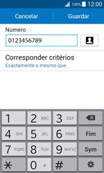 Samsung Galaxy J1 - Chamadas - Como bloquear chamadas de um número -  11