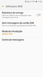 Samsung Galaxy J5 (2016) DualSim (J510) - SMS - Como configurar o centro de mensagens -  8