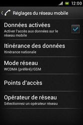 Sony ST23i Xperia Miro - Internet - configuration manuelle - Étape 9