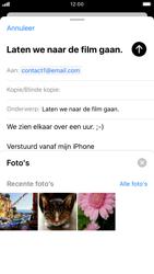 Apple iphone-7-met-ios-13-model-a1778 - E-mail - Hoe te versturen - Stap 11