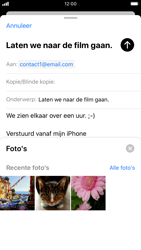 Apple iPhone 6s - iOS 13 - E-mail - e-mail versturen - Stap 10