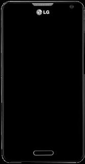 LG Optimus F6 - Premiers pas - Découvrir les touches principales - Étape 2