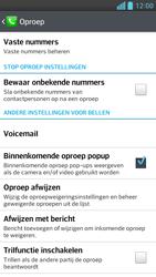 LG D505 Optimus F6 - Voicemail - Handmatig instellen - Stap 5