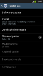 Samsung I9505 Galaxy S IV LTE - Software update - update installeren zonder PC - Stap 6