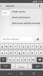 Sony Xperia Z1 - Mensajería - Escribir y enviar un mensaje multimedia - Paso 6
