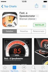 Apple iPhone 4S iOS 7 - Aplicaciones - Tienda de aplicaciones - Paso 7