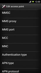 Sony ST26i Xperia J - Mms - Manual configuration - Step 12