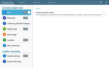 Samsung T535 Galaxy Tab 4 10-1 - Network - Usage across the border - Step 4