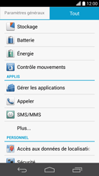 Huawei Ascend P6 LTE - Messagerie vocale - configuration manuelle - Étape 5