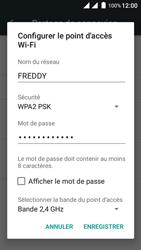 Wiko Freddy - Internet et connexion - Partager votre connexion en Wi-Fi - Étape 7