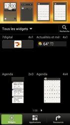 HTC One S - Applications - Personnaliser l