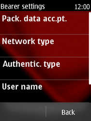 Nokia Asha 300 - Internet - Manual configuration - Step 13