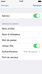 Apple iPhone 5 iOS 7 - E-mail - Configuration manuelle - Étape 17