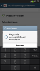 Samsung I9195 Galaxy S IV Mini LTE - E-mail - Account instellen (IMAP met SMTP-verificatie) - Stap 14