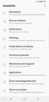 Samsung Galaxy Note 8 - Aller plus loin - Désactiver les données à l'étranger - Étape 4