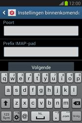 Samsung Galaxy Fame Lite (S6790) - E-mail - Account instellen (IMAP zonder SMTP-verificatie) - Stap 10